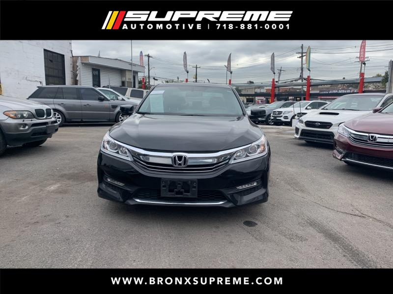 Pre-Owned 2016 Honda Accord EX-L V-6 Sedan AT with Navigation