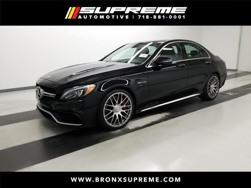 Pre-Owned 2016 Mercedes-Benz C-Class C63 AMG®-S Sedan