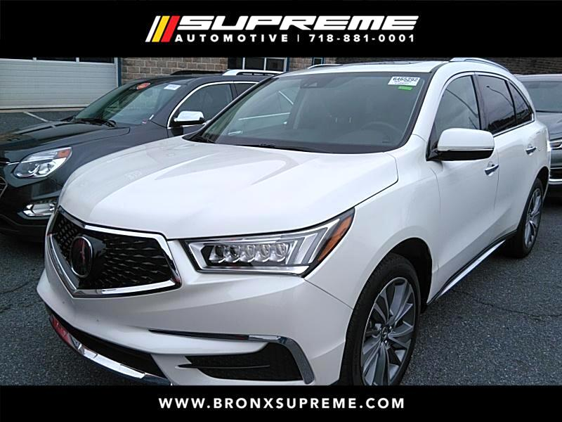 Pre-Owned 2017 Acura MDX SH-AWD 9-Spd AT w/Tech Package