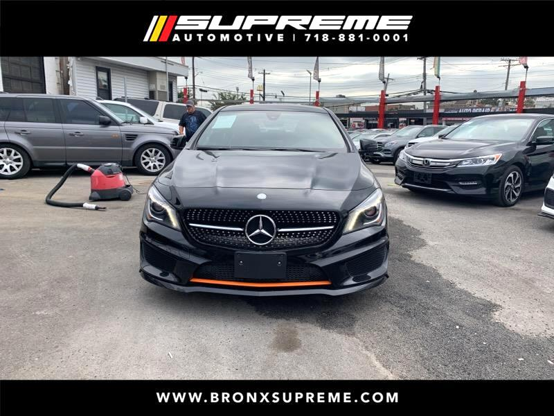 Pre-Owned 2016 Mercedes-Benz CLA CLA250 4MATIC® EDITION: ORANGE
