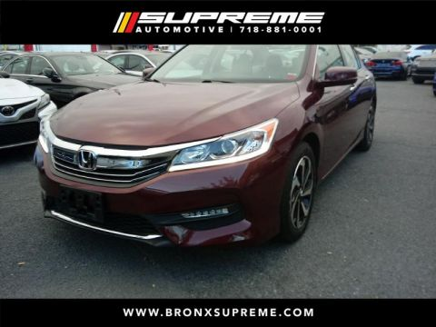 Pre-Owned 2017 Honda Accord EX-L Sedan