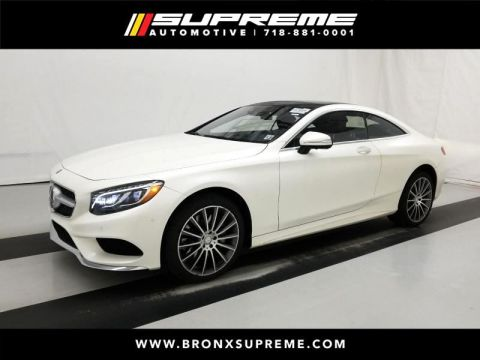Pre-Owned 2016 Mercedes-Benz S-Class S550 4MATIC® Coupe